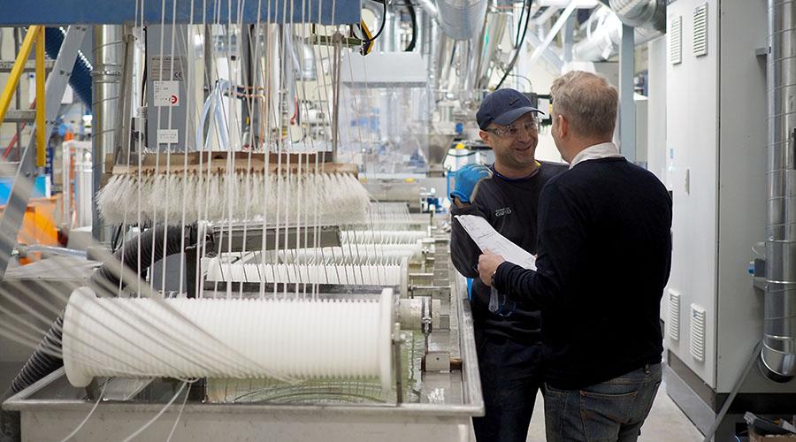 Polykemi rustar inför framtiden med ny produktionslinje