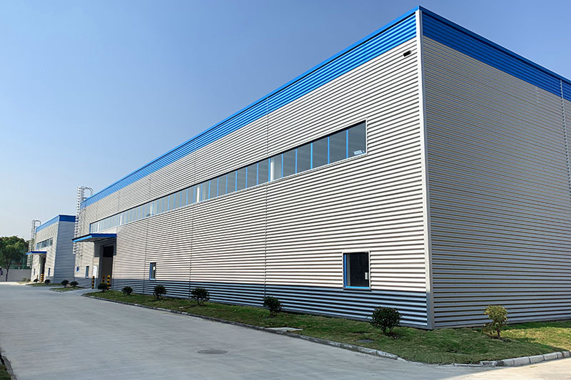 New factory building Polykemi Compounds China