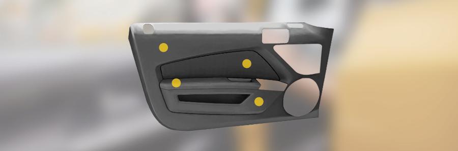 Door panel - COMPLUS Concept - Polykemi and Rondo Plast